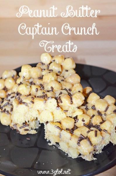 Peanut Butter Captain Crunch Treats