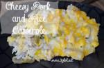 Cheesy Pork and Rice Casserole @ 3GLOL