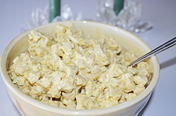 Deviled Egg Pasta Salad by 3GLOL.net