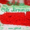 Christmas Cake Brownies by 3GLOL.net