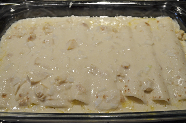 White Chicken Enchiladas by 3glol.net