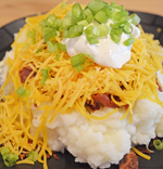 Loaded HOMEMADE Mashed Potatoes by 3glol.net