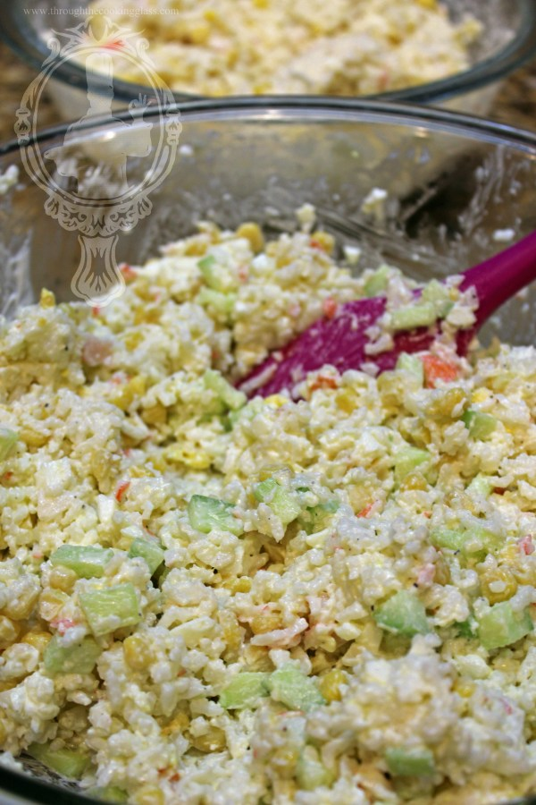 Rice and Crab Salad