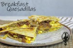 Breakfast Quesadilla Feature