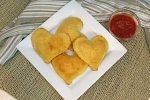 Mozzarella Cheese Hearts