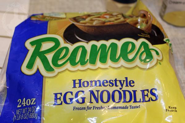 Bag of Reames Homestyle Egg Noodles