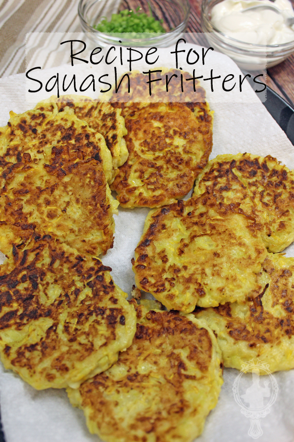 Squash Fritters on a plate.