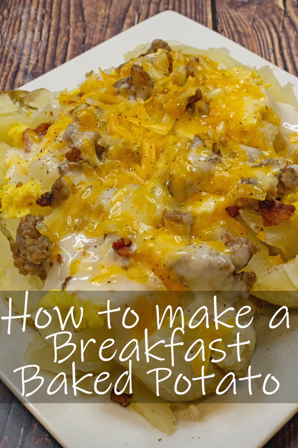 Breakfast Baked Potato