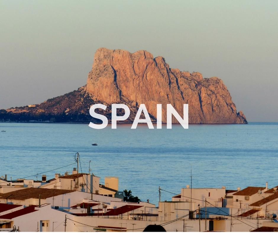 Spain Through The Iris Blog Portfolio Cover