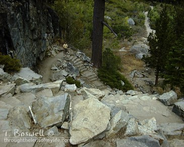 2007 Lake Tahoe area - Descent