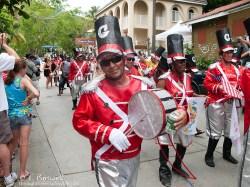 St. John parade drummer.