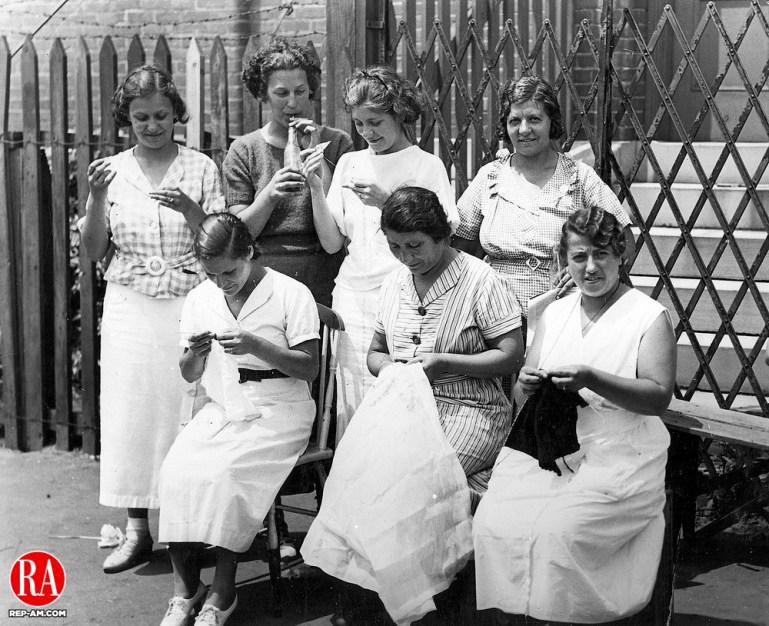 Garment workers 26 July 1935, Watertown.