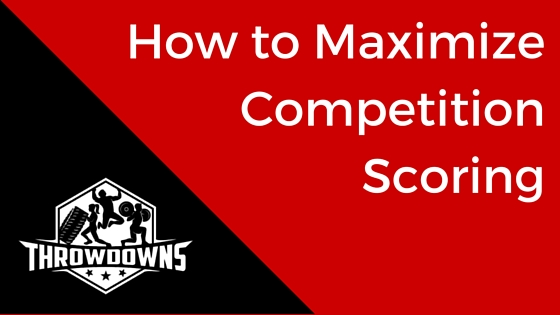 How to Maximize Competition Scoring