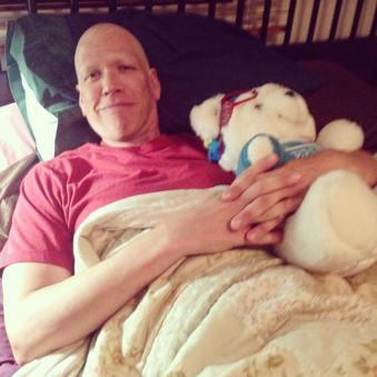 Kenny after transplant