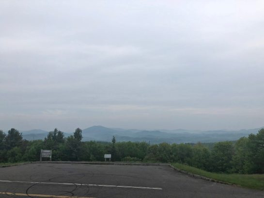 Boone in the distance