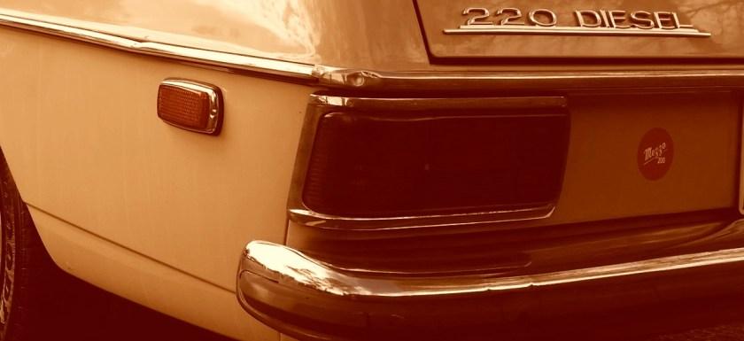1972 Mercedes-Benz 220D