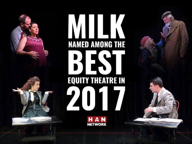 Milk named among best equity theatre in 2017