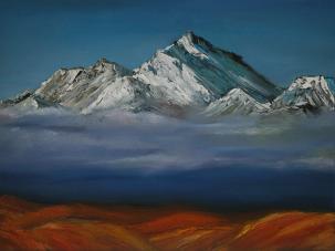 """Mountain Series – """"Rising"""" by Fufan Zhang"""