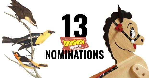 Thirteen 2019 BroadwayWorld Award Nominations