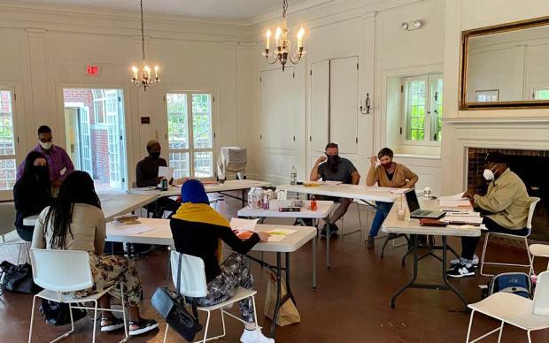 The Suburbs Workshop Table Work