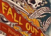 Fall Out Boy tour poster