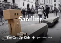 "Title Card Still image for ""Satellite"" music video"