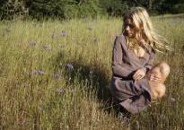 Skylar Grey in grassy field