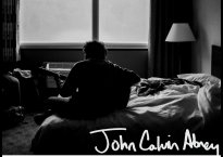 "Cover art for indie folk artist, John Calvin Abney's latest EP, ""I Just Want to Feel Good"""