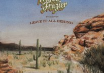 """Cover art for single, """"Among the Desert Stars,"""" by rolk roots musician, Mike Fazier"""