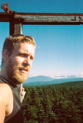 Daniel on the Appalachian Trail