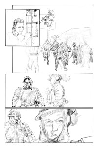 Pencils from Thru #3