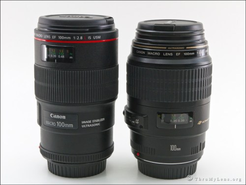 Comparative Review:  Canon EF 100mm f/2.8 Macro USM vs. the Canon EF 100mm f/2.8L Macro IS USM