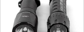 Tactical Flashlight Comparison:  The eGear XT-130 vs. The Fenix TK12