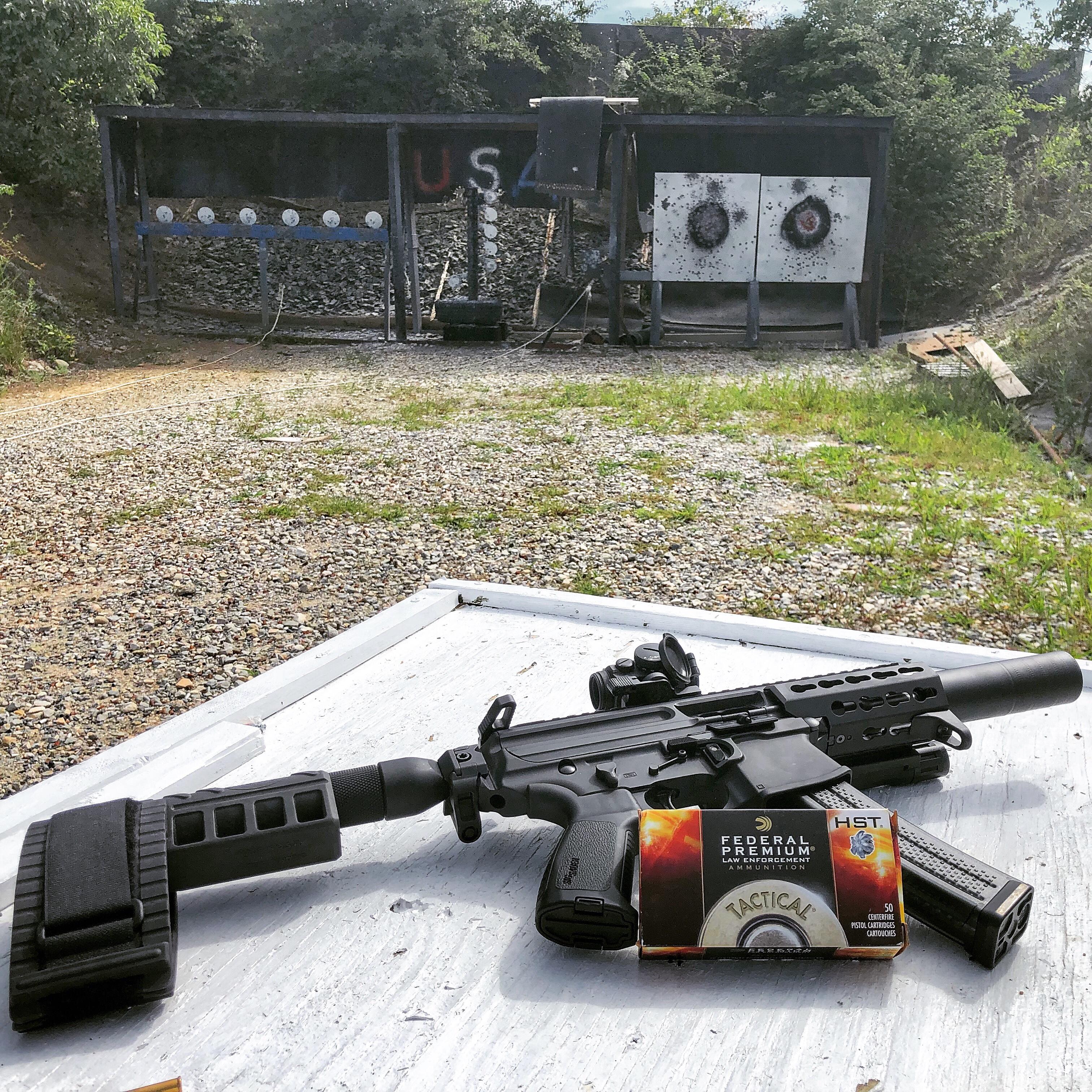 review of my suppressed sig mpx pistol thrumylens