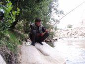 Angler in Jaghori.