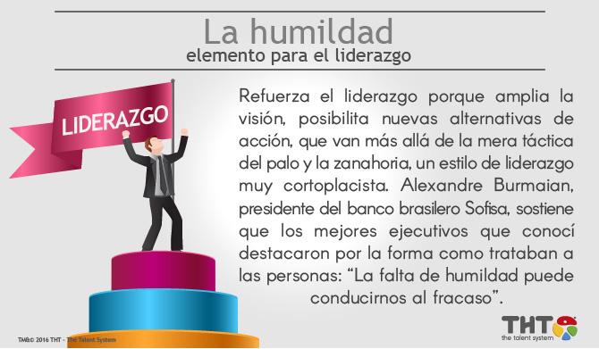 La Humildad como elemento de liderazgo
