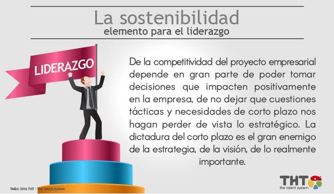 La Sostenibilidad como elemento de liderazgo