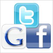 Google, Facebook y Twitter analizan el 2010