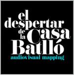 Espectacular mapping audiovisual sobre Casa Batlló
