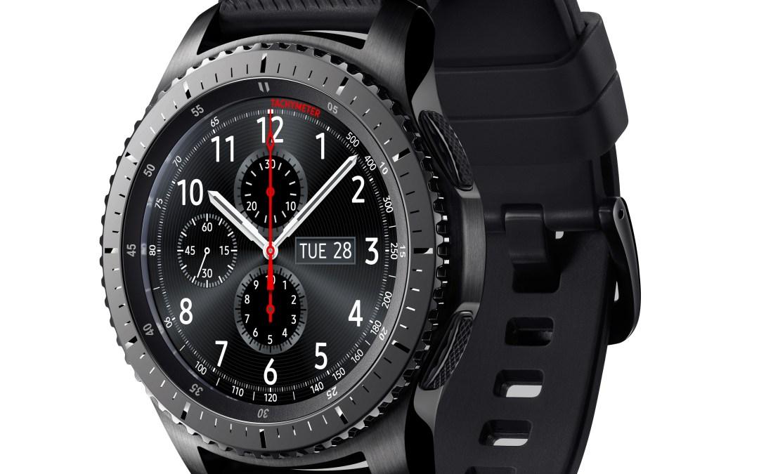 Smartwatch Gear S3, el nuevo reloj inteligente de Samsung