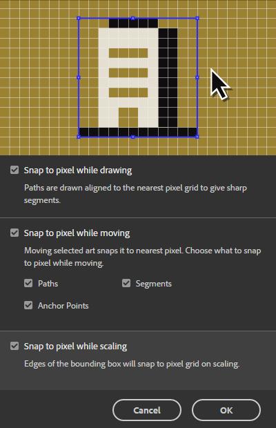 Alinear objetos en Illustrator CC 2017 es mucho más fácil con esta nueva opción.