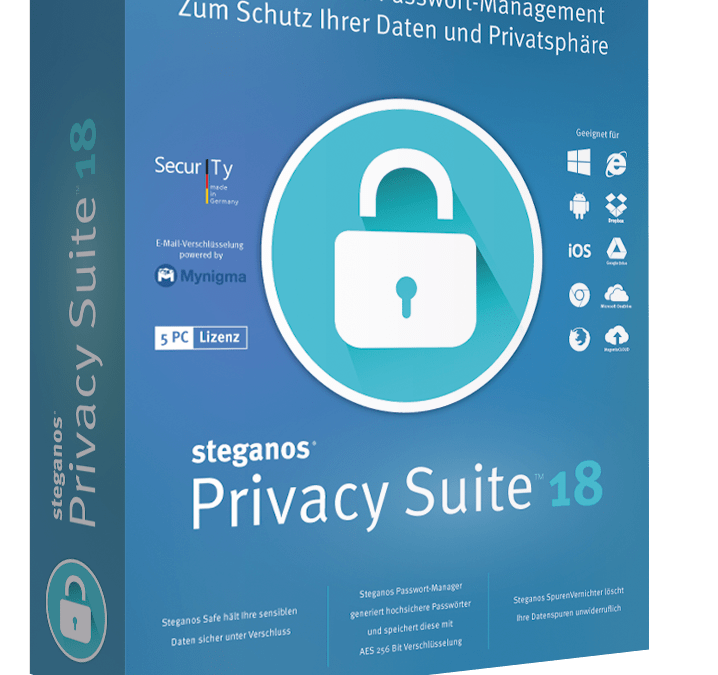 Steganos Privacy Suite 18: Que lo privado siga siendo privado