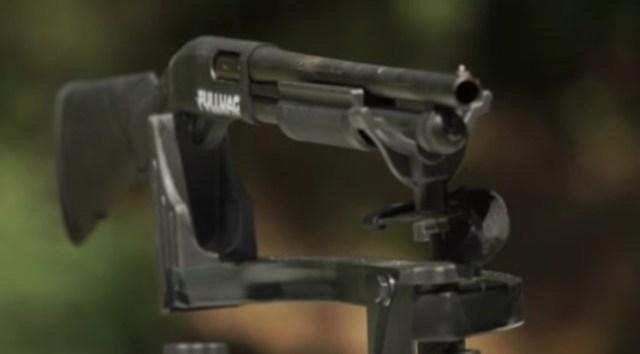Shooting a .50 Cal Down A Shotgun Barrel