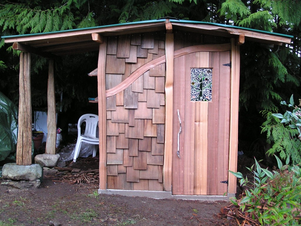 A Wilde Composting Toilet Outbuilding Cedar Sustainable