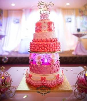 Pink BC cake