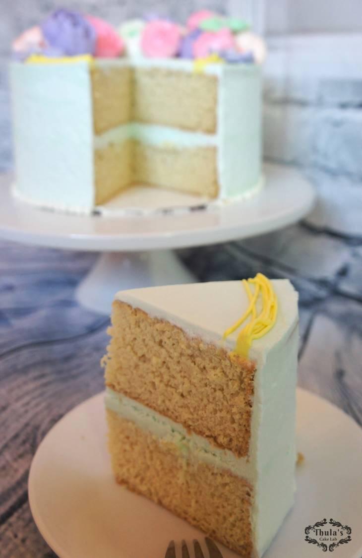 White Vanilla Cake 3