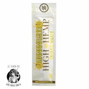 Bananagoo High Hemp Pieza con filtros