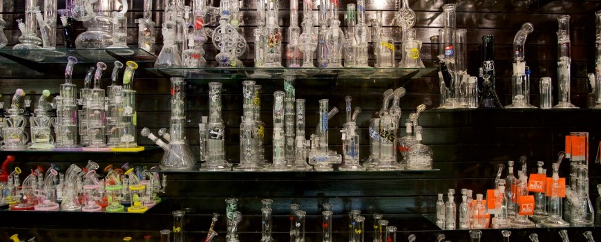 Bongs en smokeshop