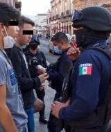 Detenidos El sol de México
