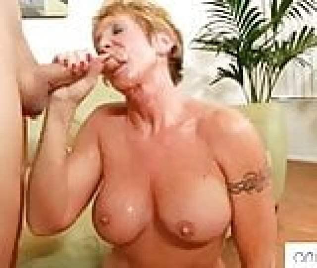 Horny Granny Loves Facials